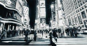 Das quadratische New York der Zeit Stockfotografie