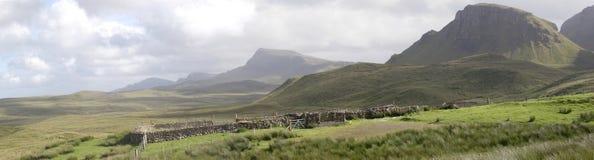 Das Quirang, Insel von Skye stockbild