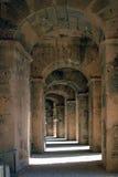 Das römische Amphitheater in EL-Jem stockbilder