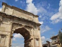 Das römische Forum Stockfotos