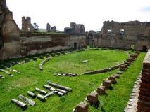 Das römische Forum Stockbild