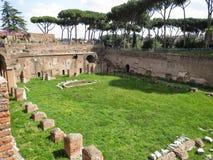Das römische Forum Stockfotografie