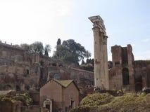 Das römische Forum Lizenzfreies Stockfoto