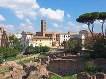 Das römische Forum Stockbilder