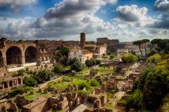 Das römische Forum Stockfoto