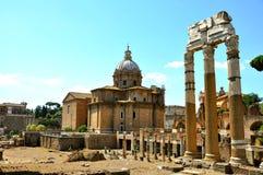 Das römische Forum, Foro Romano, Italien Stockfotos