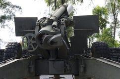 Das Rad der großartigen Kanone Stockbild