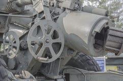 Das Rad der großartigen Kanone Lizenzfreies Stockfoto