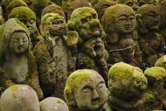 Das Rakan von Otagi Nenbutsu-ji Lizenzfreies Stockfoto