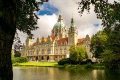 Das Rathaus von Hannover Stockfoto