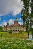 Das Rathaus von Hannover Lizenzfreie Stockbilder
