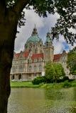 Das Rathaus von Hannover Stockfotos