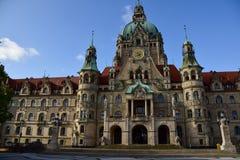 Das Rathaus von Hannover Lizenzfreies Stockbild