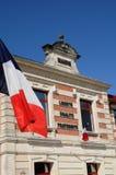 Das Rathaus von Le Teich in Gironde Lizenzfreies Stockbild