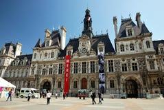 Das Rathaus von Paris Stockbilder