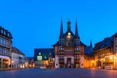 Das Rathaus von Wernigerode Lizenzfreies Stockbild