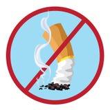 das Rauchen ist tot Stockfotografie