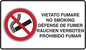 das Rauchen ist tot lizenzfreie abbildung