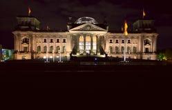 Das Reichstag Gebäude Stockfoto