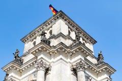 Das Reichstag Gebäude in Berlin stockfotos