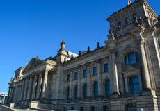 Das Reichstag Gebäude in Berlin Stockbild