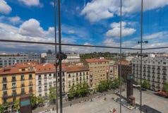 Das Reina Sofia-Museum von Madrid, Spanien lizenzfreie stockfotografie