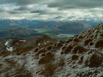 Das Remarkables vom Berg Roy stockbild