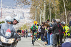 Das Rennen - Volta Ciclista ein Catalunya 2016 Stockfotografie