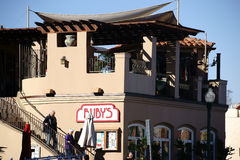 Das Restaurant San Juan Capistrano des Rubins Stockfotos