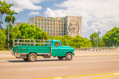 Das Revolutions-Quadrat oder Plaza de la Revolucion herein Stockfotos