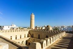 Das Ribat von Sousse, Tunesien stockfotos