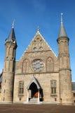 Das Ridderzaal innerhalb des Binnenhof, die Niederlande Lizenzfreies Stockfoto