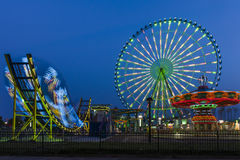 Das Riesenrad in Suzhou, China Lizenzfreies Stockbild