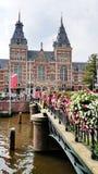 Das Rijksmuseum, Amsterdam stockbilder
