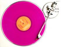 Das rosafarbene Album Stockbild