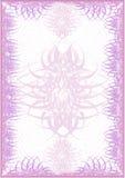 Das rosafarbene Luxuxleerzeichen Lizenzfreie Stockfotos