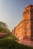 Das rote Fort in Delhi Indien Lizenzfreie Stockfotos