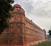 Das rote Fort in Delhi Indien Lizenzfreie Stockbilder