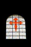 Das rote Kreuz des Gönner-Heiligen von Galizien Stockbilder