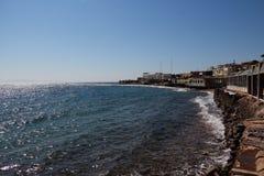 Das Rote Meer in Dahab von Ägypten Lizenzfreie Stockbilder