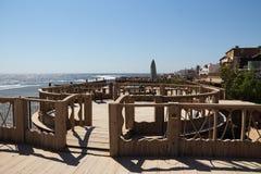Das Rote Meer in Dahab von Ägypten Stockbilder