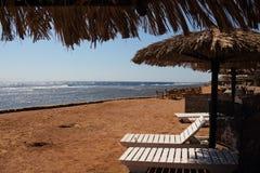 Das Rote Meer in Dahab von Ägypten Lizenzfreies Stockfoto