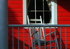 Das rote Portal lizenzfreie stockbilder