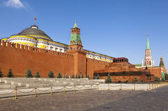 Das rote Quadrat, Moskau Stockbilder