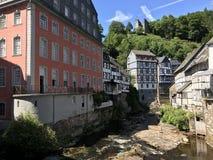 Das Rotes Haus en Monschau Fotos de archivo libres de regalías