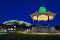 Das rotonda und das Adelaide-Oval Stockfotos