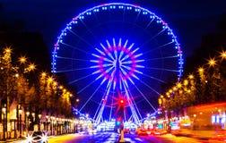 Das Roue De Paris, Place de la Concorde, Frankreich stockbilder