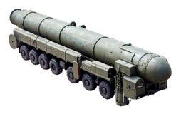 Das RS-24 (Topol-M) - interkontinentalballistisches der russischen Waffe Lizenzfreie Stockbilder