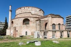 Das Rundbau von Galerius in Saloniki stockfotos