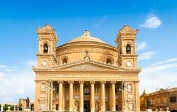 Das Rundbau von Mosta 1860 in Mosta, Malta lizenzfreie stockfotos